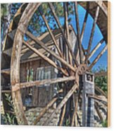 Water Mill Wood Print