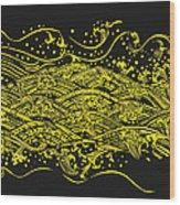 Water Pattern Wood Print by Setsiri Silapasuwanchai