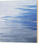 Calm Water Wood Print