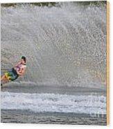 Water Skiing 16 Wood Print