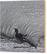 Water Skiing 3 Wood Print