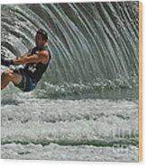 Water Skiing Magic Of Water 3 Wood Print