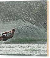 Water Skiing Magic Of Water 7 Wood Print
