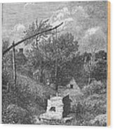 Water Well, C1880 Wood Print
