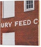 Waterbury Feed Wood Print