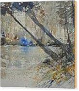 Watercolor 119080 Wood Print