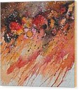Watercolor 212022 Wood Print