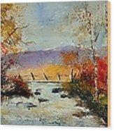 Watercolor 212092 Wood Print