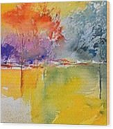 Watercolor 2125632 Wood Print