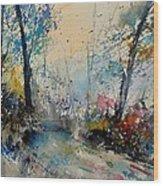 Watercolor 213020 Wood Print