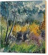 Watercolor 216050 Wood Print