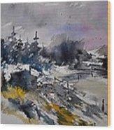 Watercolor 217021 Wood Print
