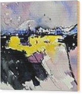 Watercolor 218012 Wood Print