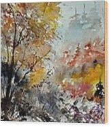 Watercolor 218022 Wood Print