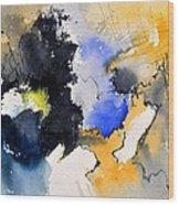 Watercolor 218050 Wood Print