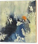 Watercolor 218091 Wood Print