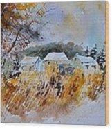 Watercolor 219003 Wood Print