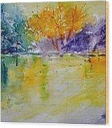 Watercolor 219041 Wood Print