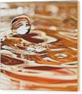 Waterdrop8 Wood Print