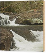 Waterfall 202 Wood Print