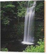 Waterfall, Ireland Wood Print