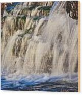 Waterfalls Wood Print
