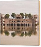 Waterfront Building, Jaipur, India Wood Print