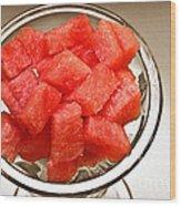 Watermelon Parfait 2 Wood Print