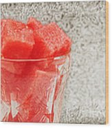 Watermelon Parfait 3 Wood Print