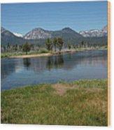 Waters Lead To Lake Tahoe Wood Print