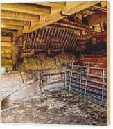 Watersfield Stable Wood Print