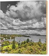 Watson Bay Sydney Harbor Wood Print
