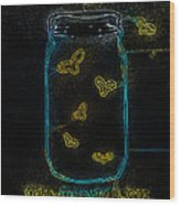 Wauwatosa Neon Wood Print