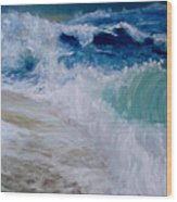 Wave Dance Wood Print