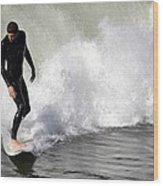Wave Master Wood Print