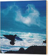 Wavedance Wood Print