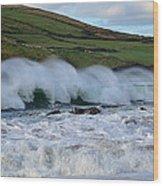 Waves In Dingle Wood Print