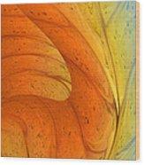 Waves Of Sanity Wood Print