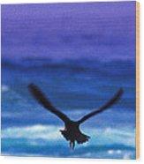 Wavewings Wood Print