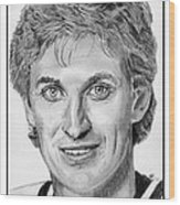 Wayne Gretzky In 1992 Wood Print
