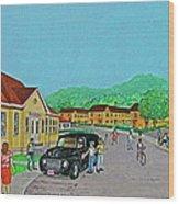 Wayne Hills 1948 Wood Print