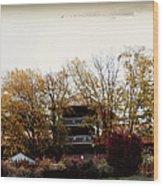 Waynesville Inn And Golf Resort Wood Print