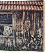 Wayside Wood Print by Jutta Maria Pusl