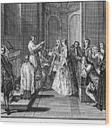 Wedding, C1730 Wood Print