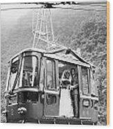 Wedding: Cable Car, 1970 Wood Print