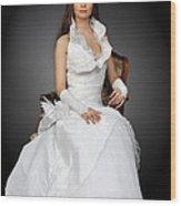 Wedding Portrait Wood Print