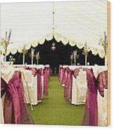 Wedding Venue Wood Print