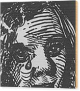 Weeping Woman Wood Print by Louis Gleason