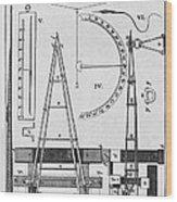 Weighbridge And Hygrometer, 18th Century Wood Print