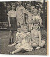 Weiner Cousins C 1953 Wood Print